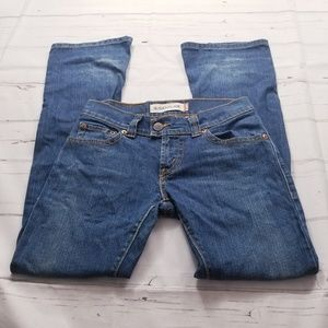 Levi's Slouch Flare Jeans distressed size 3 M